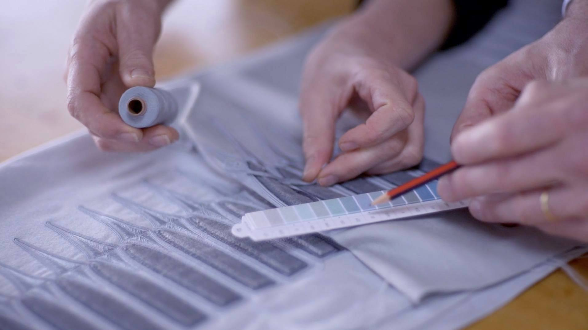 The London Curtain Company : : Atelier Couture : Fabrication