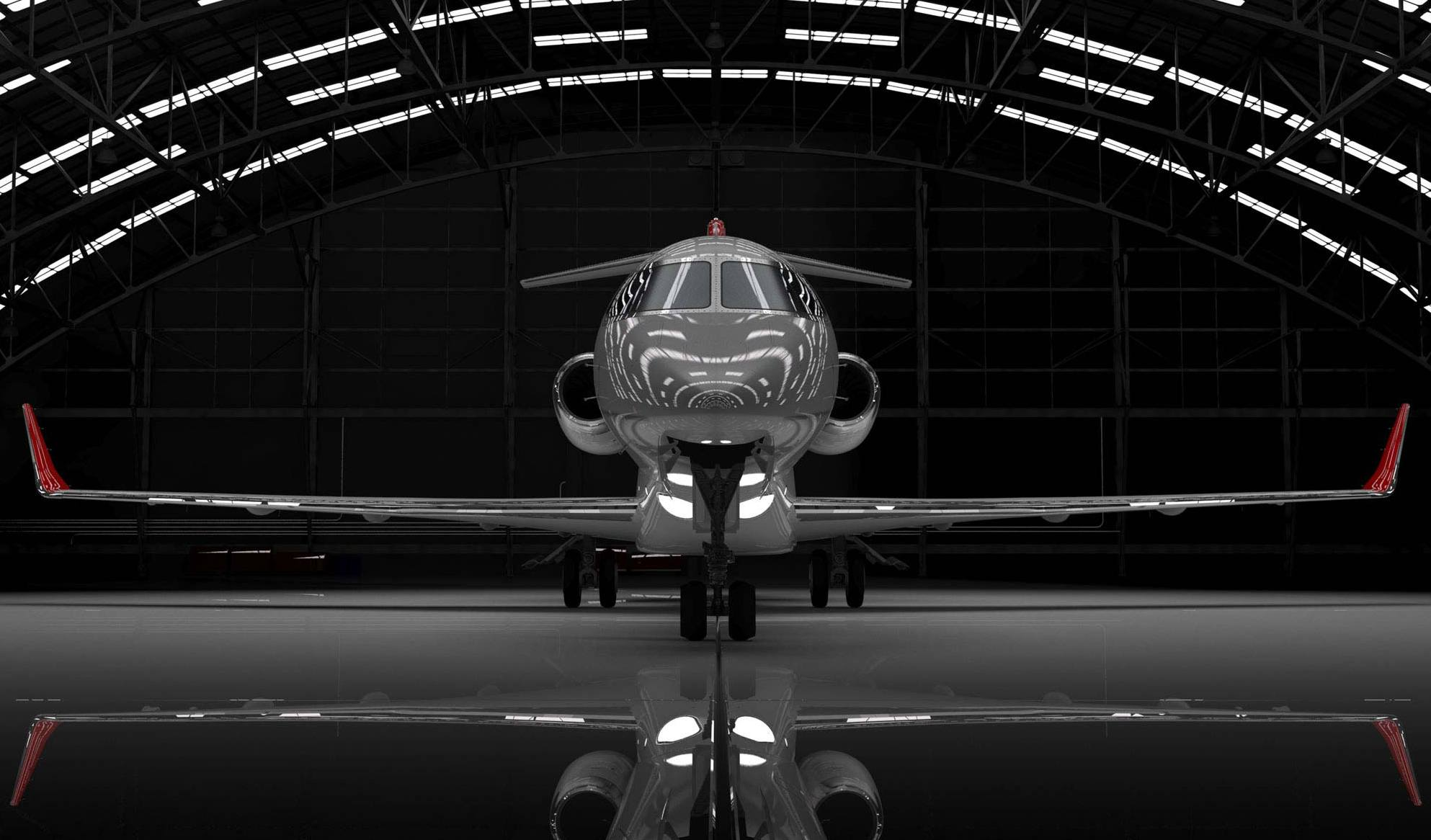 The London Curtain Company : : Aviation : Private Jet