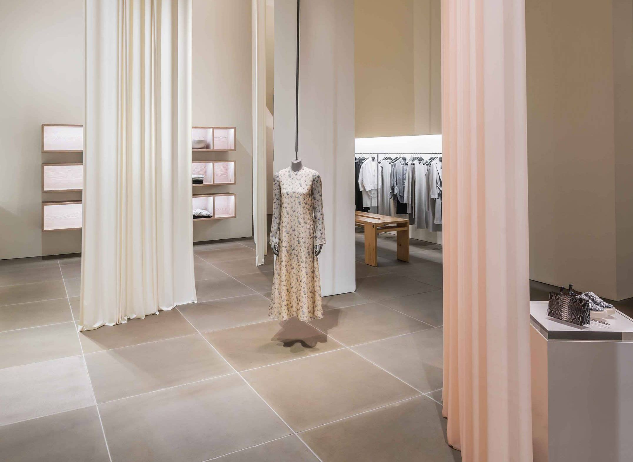 The London Curtain Company : : Luxury Retail : Calvin Klein
